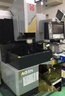 型彫放電加工機:AQ35L